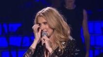 Celine Dion torna a cantare dopo la morte del marito: grande commozione alla fine