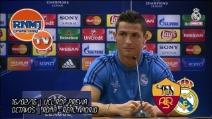 """Ronaldo al giornalista: """"Trovami uno che ha segnato più di me"""", poi si alza e se ne va"""