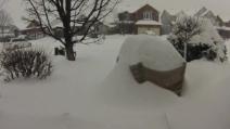 50 cm in 15 secondi: la nevicata record in Canada