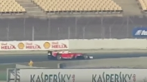 Vettel, prima volta alla guida della Ferrari SF16-H