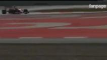 Primo giorno di test: il confronto tra il motore della Ferrari di Vettel con la nuova Haas