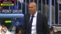 Cristiano Ronaldo sbaglia il rigore: esplode la rabbia di Zidane