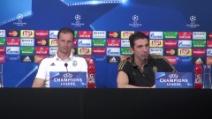 """Allegri e Buffon: """"La gara col Bayern è come una semifinale"""""""