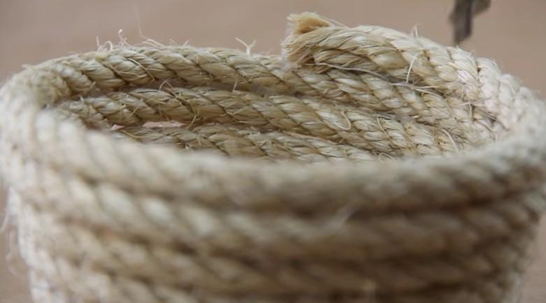 Come fare un tappeto circolare con una semplice corda