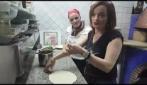 Valentina Stella la grande voce di Napoli e Teresa Iorio, la regina delle pizzaiuole napoletane