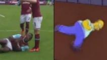 West Ham, Antonio segna ed esulta come Homer Simpson