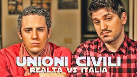 Unioni Civili - Realtà Vs Italia   HD