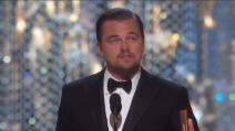"""""""Non diamo per scontato questo pianeta"""", il discorso di Leonardo Dicaprio alla vittoria dell'Oscar"""