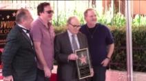 Ennio Morricone riceve la stella sulla Walk of Fame a Hollywood