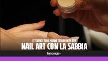 Nail Art con la sabbia e dot manicure: i trend unghie dalla Milano Fashion Week
