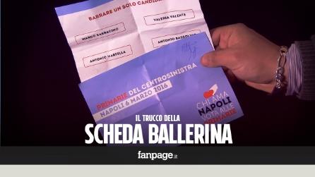 """Primarie PD Napoli, schede elettorali fuori dai seggi: il trucco della """"scheda ballerina"""""""