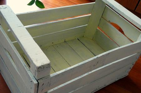 Come trasformare una cassetta della frutta in modo originale