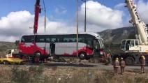 Spagna, incidente autobus: morti 13 studentesse erasmus