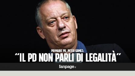 """Primarie Pd, Peter Gomez: """"Il Pd smetta di parlare di legalità"""""""