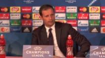 """Allegri: """"A Monaco serve la partita perfetta"""""""