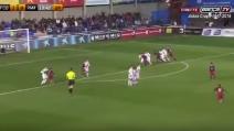 Maglia numero 10 blaugrana: il giovane Caravaca segna un gol alla Messi