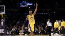 L'ultimo punto segnato da Kobe Bryant in NBA