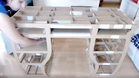 Come creare un mobiletto fai da te con i cartoni del latte - Costruire un mobiletto ...