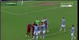 Lazio-Roma Primavera, rissa in campo dopo la gomitata di Sadiq