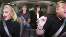 Karaoke in auto con Gwen Stefani, George Clooney e Julia Roberts