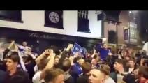 """Il Leicester festeggia in un ristorante italiano e i tifosi cantano """"Ranieri oh oh"""""""