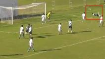"""Un gol spettacolare con il colpo che ha reso famoso Higuita: la rete dello """"scorpione"""""""