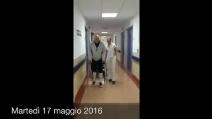 """Paolo Brosio e i primi passi dopo l'operazione: """"Sto bene"""""""