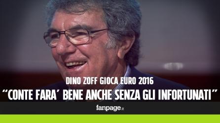 """Dino Zoff: """"Chi dopo Conte? Niente nomi, pensiamo a Euro 2016"""""""