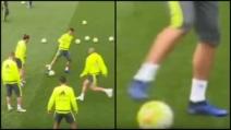 Il numero di Cristiano Ronaldo disorienta Casemiro e Pepe: spettacolo puro