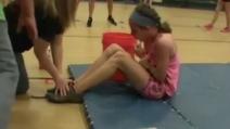 Stava per vomitare ma alla fine ce l'ha fatta: il grandissimo record di una ragazzina di 10 anni