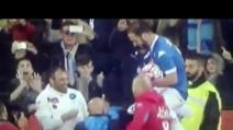Higuain portato in trionfo: giro di campo e standing ovation