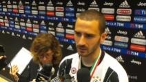 """Bonucci: """"Lo scudetto è la risposta a chi insultava la Juve"""""""