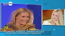 I mille volti di Michelle Hunziker a Mattino Cinque