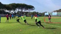Calcio tennis in casa Napoli: occhio a cosa fanno i tre portieri azzurri