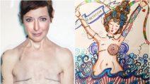 Ha sconfitto il cancro per tre volte: le sue opere d'arte sono un messaggio di coraggio