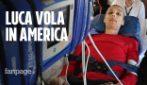 """Luca Cardillo, malato di tumore vola negli Usa per curarsi: """"Meglio una gamba amputata che la morte"""""""