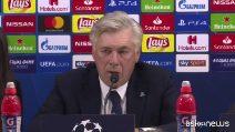 """Champions, Napoli-Psg finisce 1-1. Ancelotti: """"Non ho rimpianti"""""""