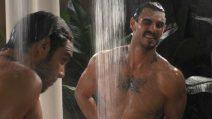 Grande Fratello VIP - La doccia sexy di Francesco Monte