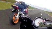 BMW 1000 vs Honda CBR 1000: la sfida folle nel traffico
