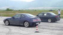 GTV vs 155 : l'emozionante sfida in casa Alfa Romeo