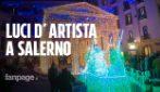 Luci d'Artista Salerno 2018: la villa comunale si trasforma in un acquario