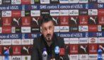 """Gattuso: """"Reazione Higuain? Troppa pressione, deve essere più lucido"""""""