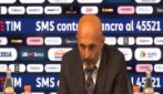 """Inter, Spalletti: """"Non eravamo pronti a questa gara"""""""