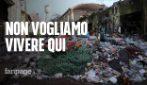 """Roma, l'appello degli abitanti dell'ex Penicillina: """"Vogliamo andare via, ma dateci alternative"""""""