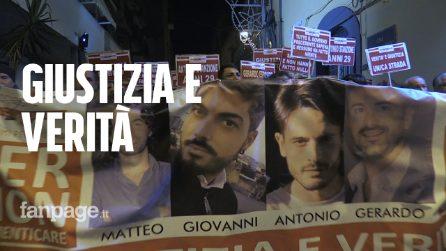 """Crollo ponte Morandi, Torre del Greco chiede giustizia per i 4 giovani morti: """"Ladri assassini"""""""