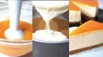 Torta fredda con albicocche: un colpo di fulmine al primo assaggio