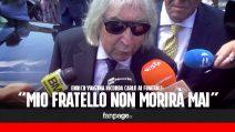 """Funerali Carlo Vanzina, il fratello Enrico: """"Non morirà mai"""". Berlusconi: """"Triste salutare un amico"""""""