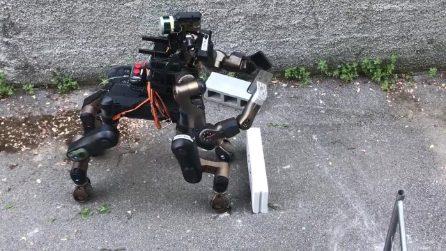 Centauro, il robot italiano pensato per la ricerca e soccorso delle persone in difficoltà