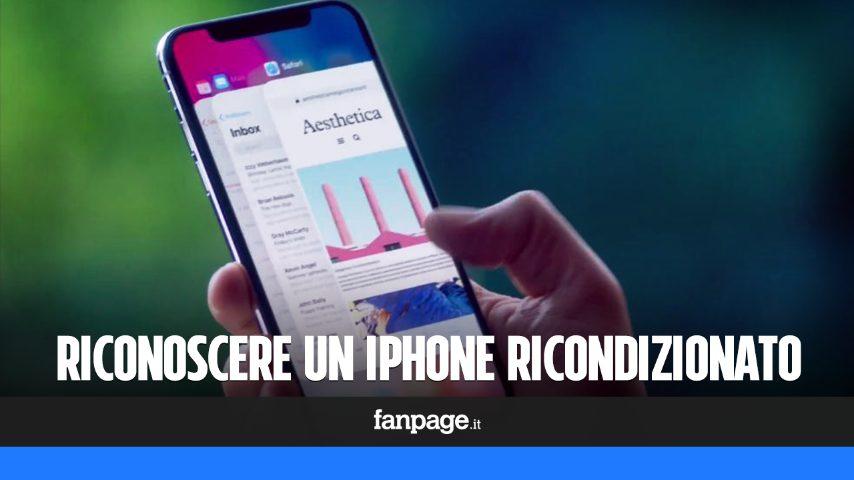 come vedere se un iphone 5 è rigenerato
