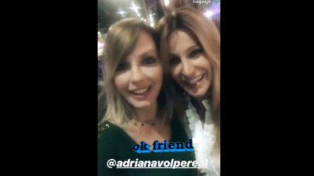 Adriana Volpe e Manila Nazzaro amiche, il video che sancisce la pace
